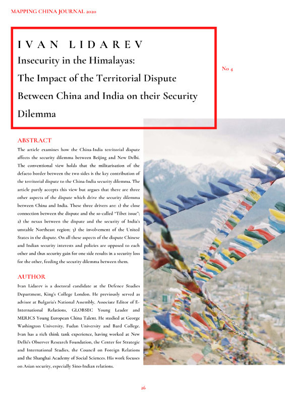 Mapping China Journal 2020 Preview 3
